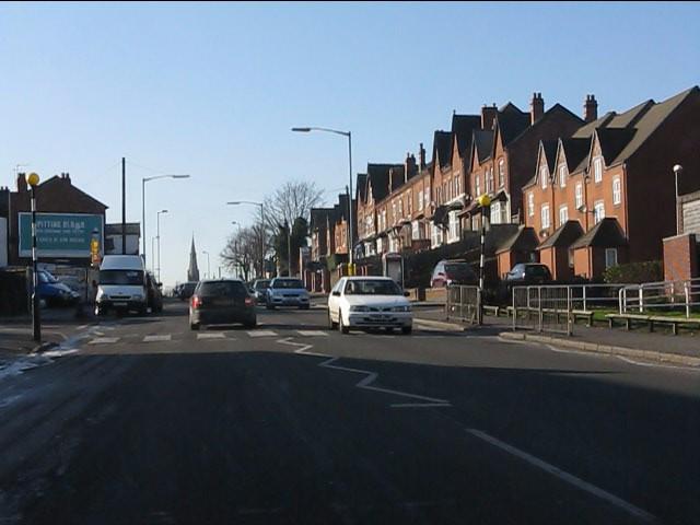 Old and new housing, Washwood Heath Road