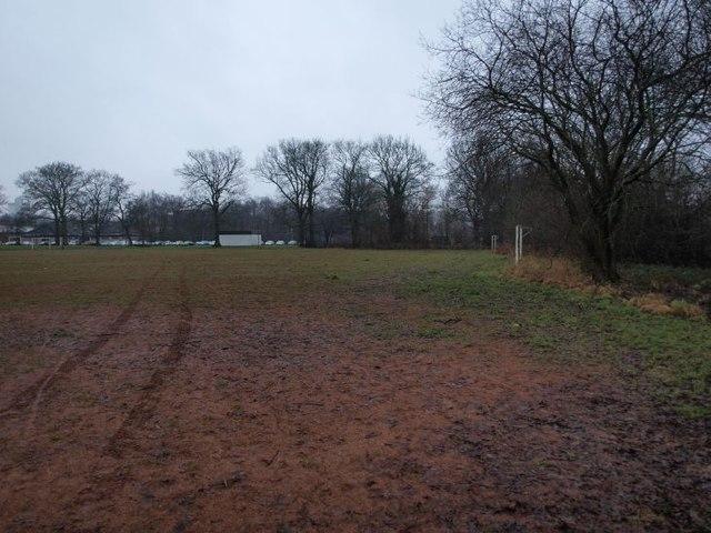 Playing fields next Pollok Park