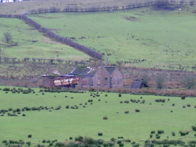Old building at Flatterton Farm
