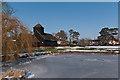 TQ2250 : Buckland Pond by Ian Capper