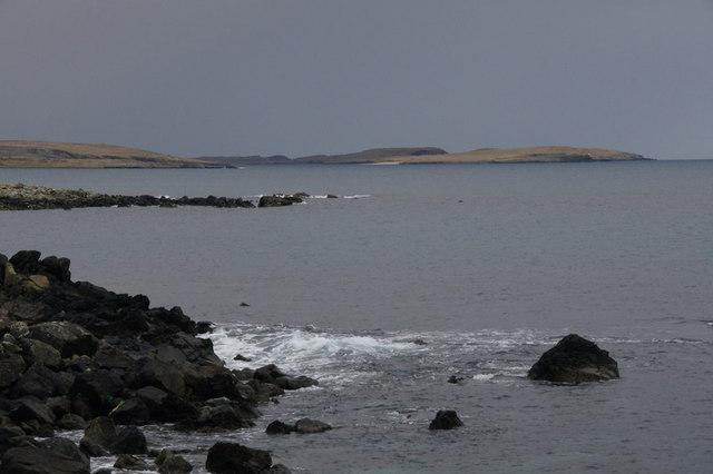 Coastline north of Kirk Geo, Framgord