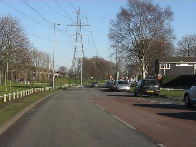 A Bromford Drive vista.