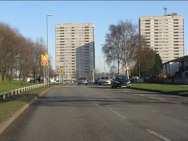 Bromford Drive tower blocks