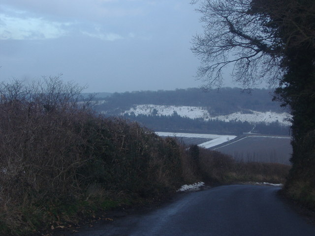 View from Redmans Lane