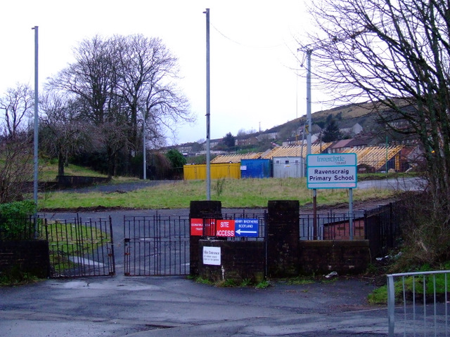 Site of Ravenscraig Primary School