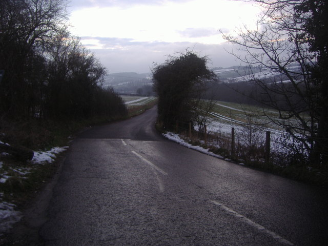 View from Castle Road near Eynsford