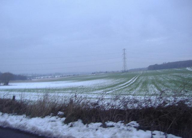 Fields by Hawstead Lane near Chelsfield