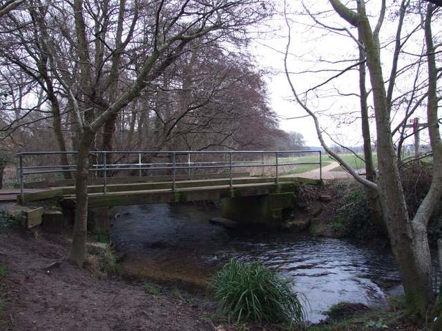 Bridge Over River Crane, In Potterne Park