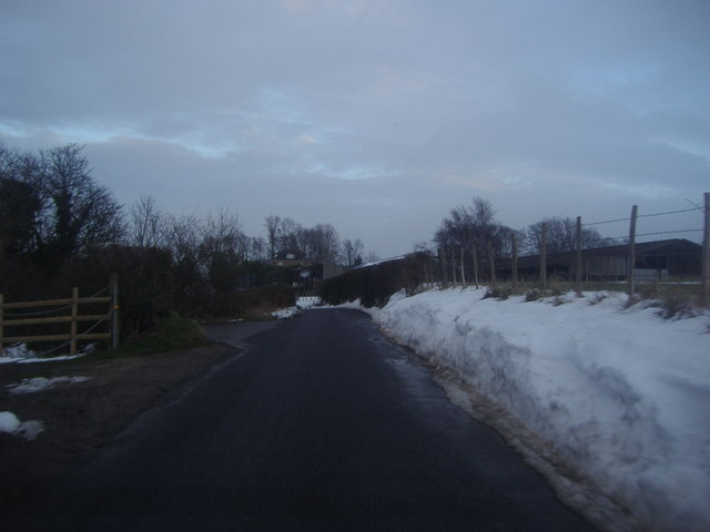 Great Cockerhurst farm from Well Hill Road