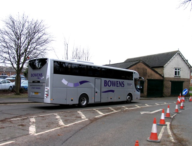 Rail Action at Oakham 12:Alternative bus service