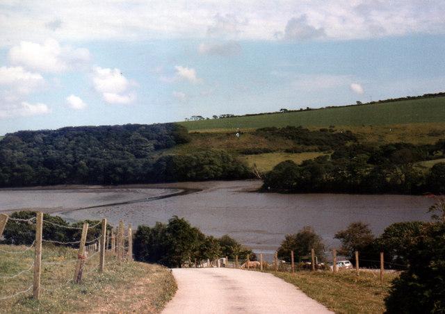 Gweek View of Helford River