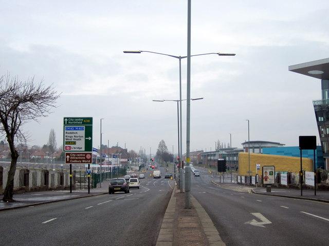 Longbridge Lane, Bristol Road South Junction