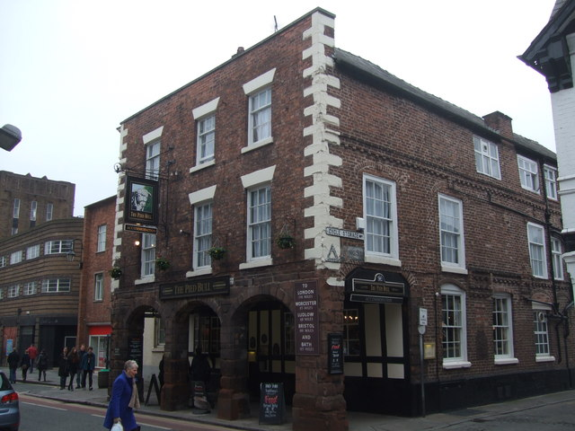 The Pied Bull Chester