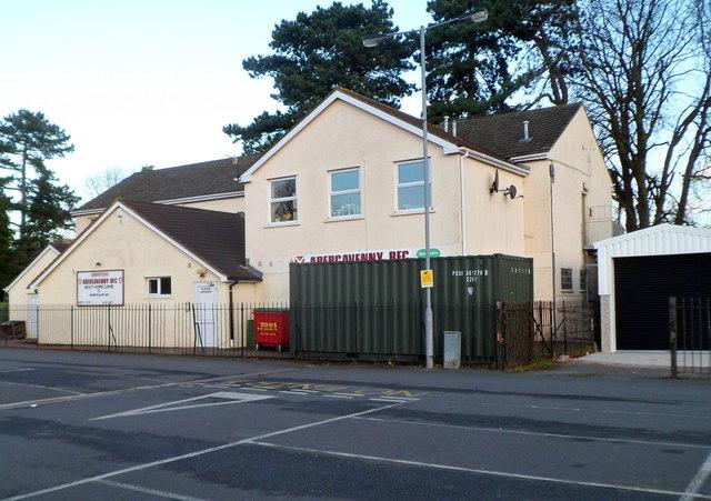 Abergavenny RFC clubhouse