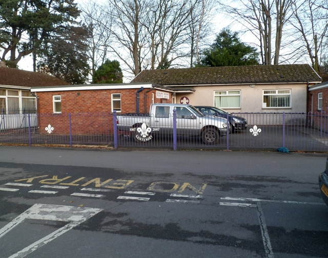 Scout hall, Abergavenny