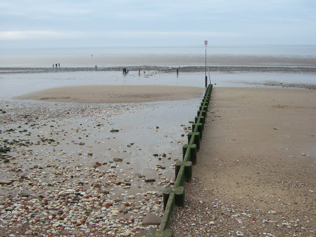 There is no longer a pier at Hunstanton