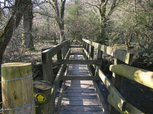 Footbridge below Rexton