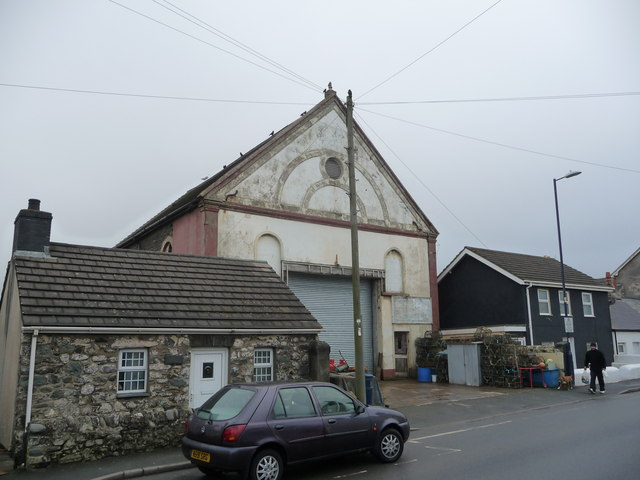 Former chapel in Borth