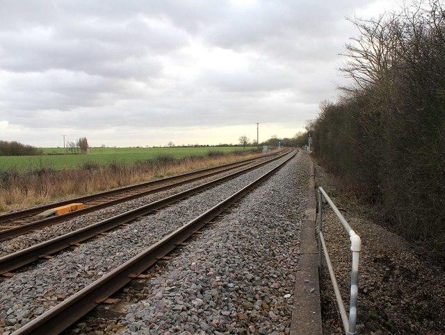 Railway line to Stratford