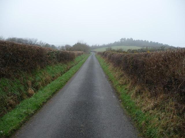 Lane above Upper Borth