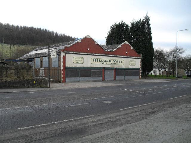 Hillock Vale Mill Shop