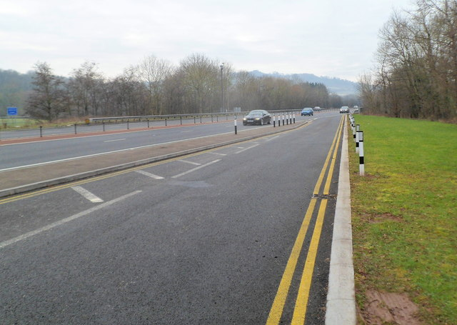 A40 SW of Monmouth