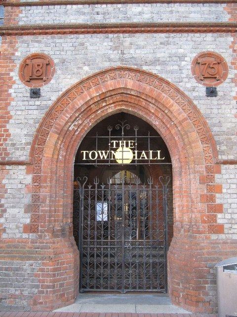 The Town Hall Entrance