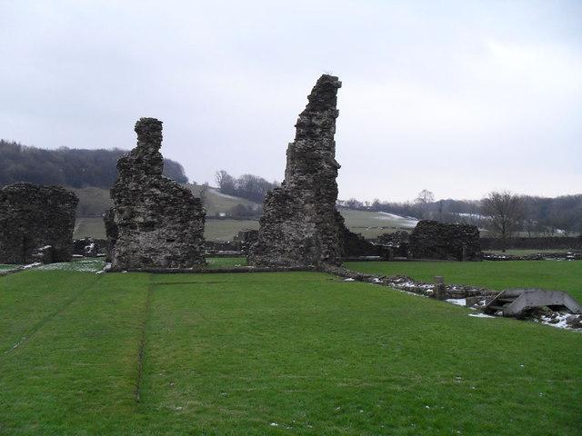 Ruins of Sawley Abbey
