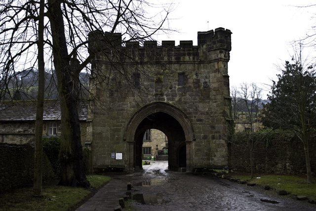 Whalley Abbey Gatehouse