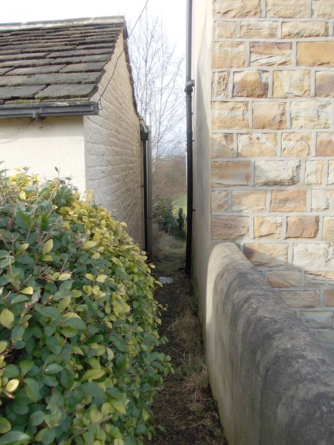 Footpath - Hunsworth Lane