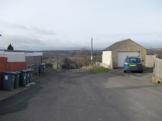 Bridleway - Mill Lane - Hunsworth Lane