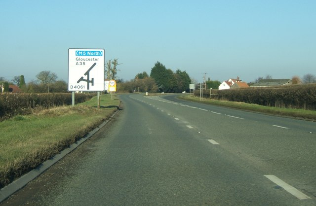 A38 at Whitfield