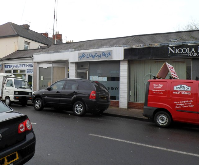 The Lunchbox cafe and van, Church Road, Newport