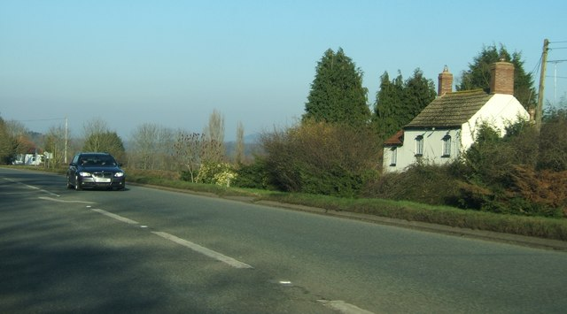 Cottage beside A38