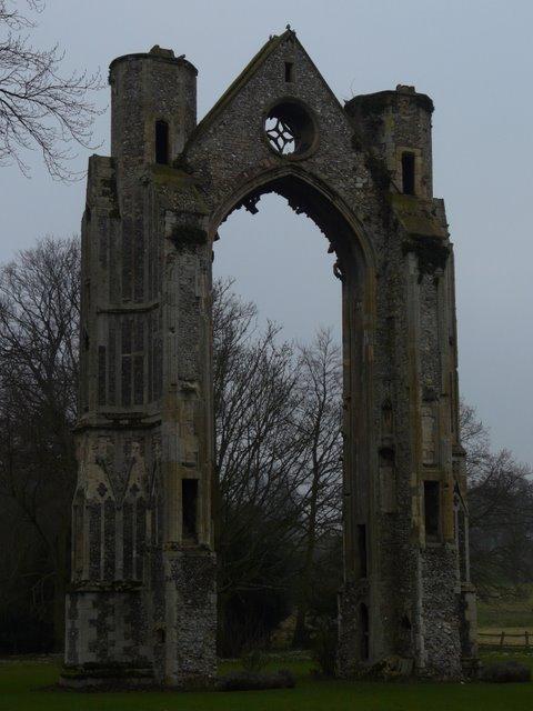 Ruins of Walsingham Priory, Norfolk