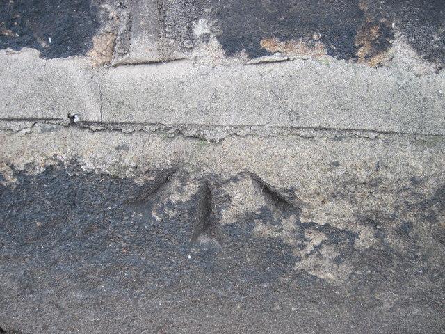 Ordnance Survey Pivot Bench Mark