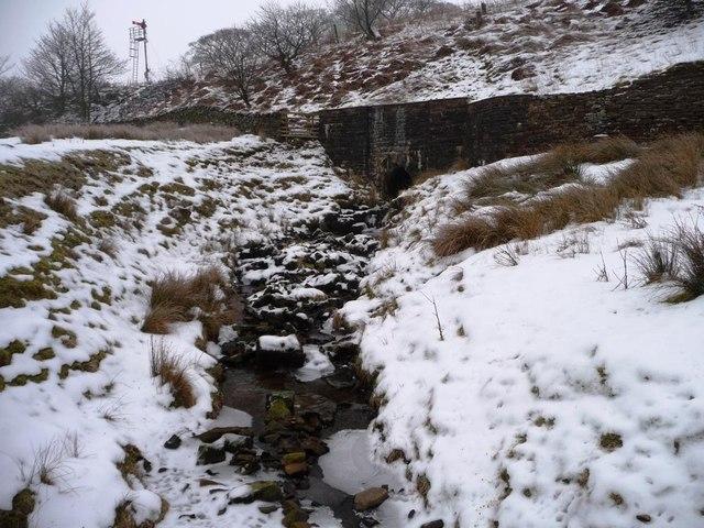 Mud Beck Gill, part-frozen