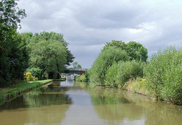 Shropshire Union Canal near Shebdon, Staffordshire