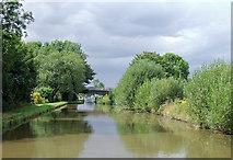 SJ7626 : Shropshire Union Canal near Shebdon, Staffordshire by Roger  Kidd