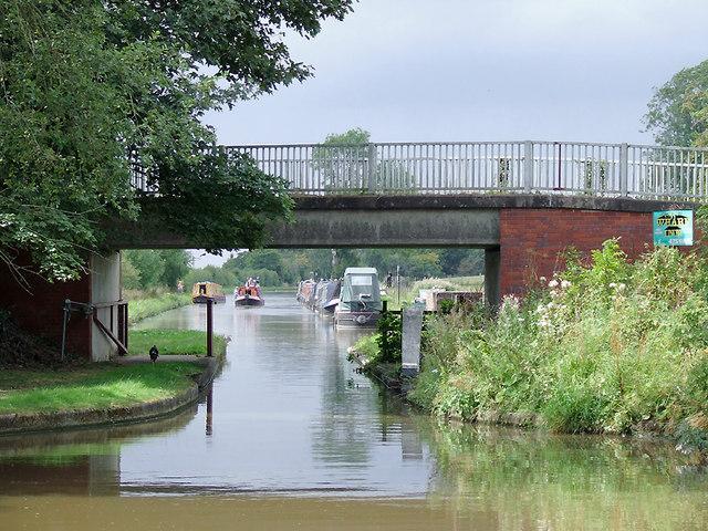 Shebdon Bridge south-east of Knighton, Staffordshire