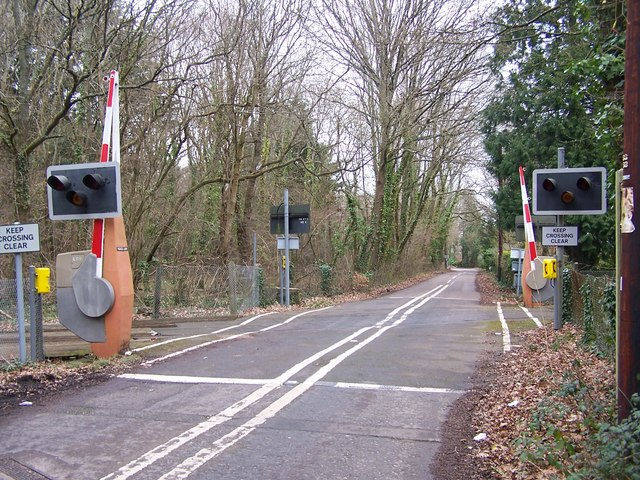 Level crossing on Veal's Lane