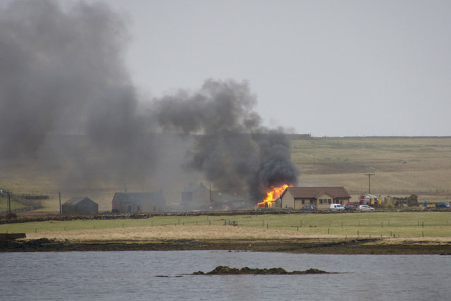 Fire at Ordaal, Baltasound
