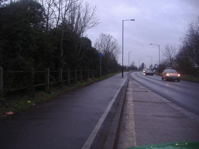Slough Road entering Slough from Datchet