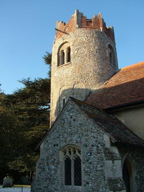 Interesting church tower