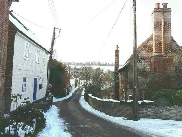 Looking down Derringstone Street