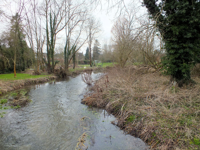 Upstream on the Ebble
