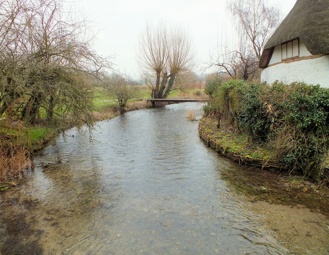 Downstream on the Ebble