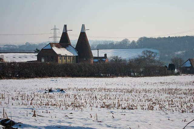 Oast House at Brook Lodge Farm, Brede Lane, Brede