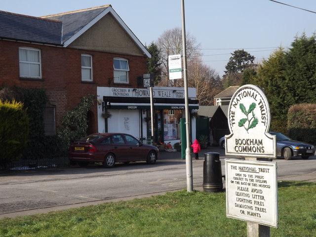 Little Bookham Village Shop