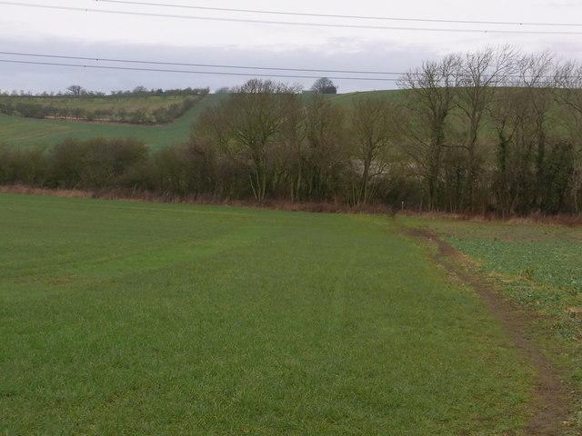 Footpath from Harvington